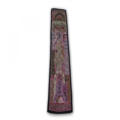 Indian Handmade Patch Work Vintage Line Tapestry Kitchen Table Runner Assorted