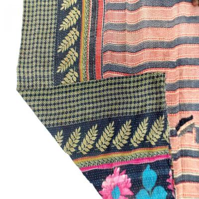 Indian Handmade Patch Work Kantha Cotton Throw Bedspread Vintage Quilt Jaipuri Gudri Assorted