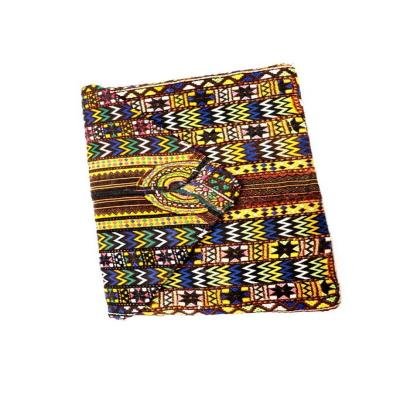 Indian Hand Embroidery Patch Work Cotton Clutch Bag Multi Color